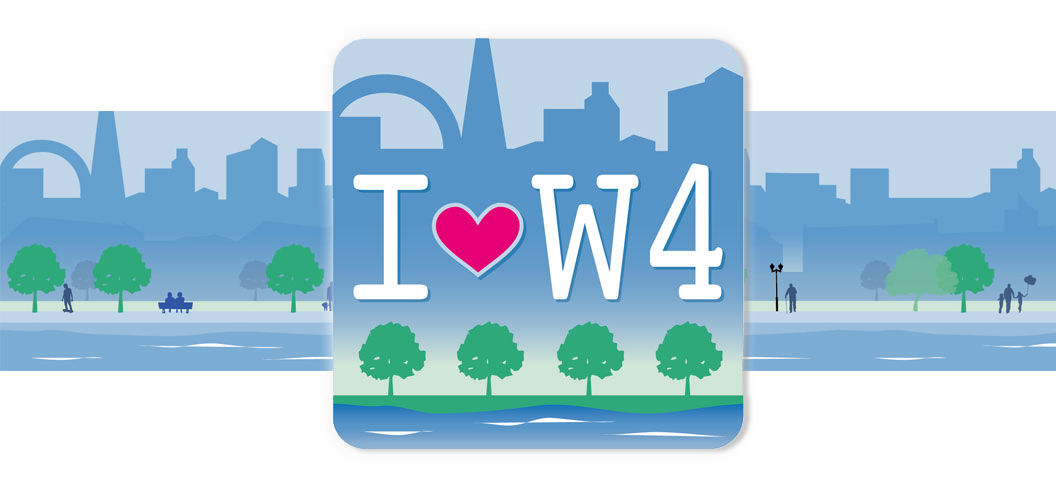I-love-w4 app logo design by Pynto