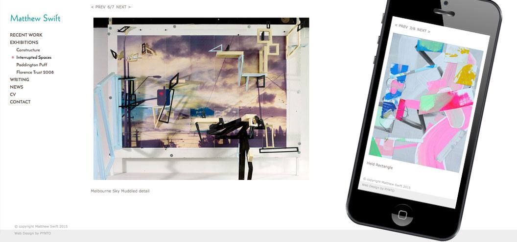 Matthew-swift-responsive-website by Pynto