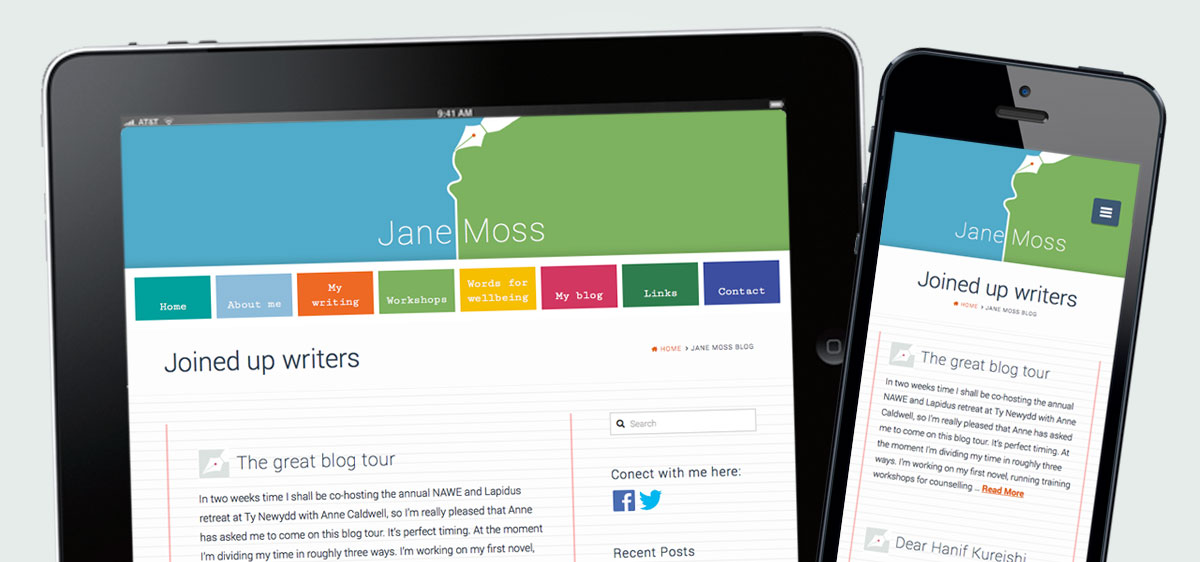 jane-moss-responsive-website by Pynto