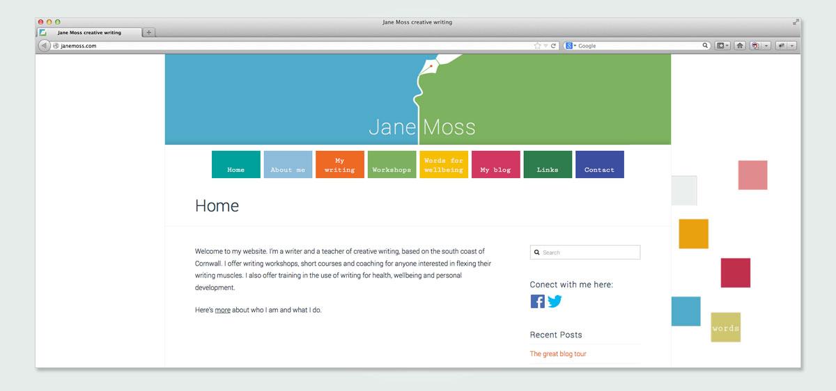 jane-moss-website-design by Pynto