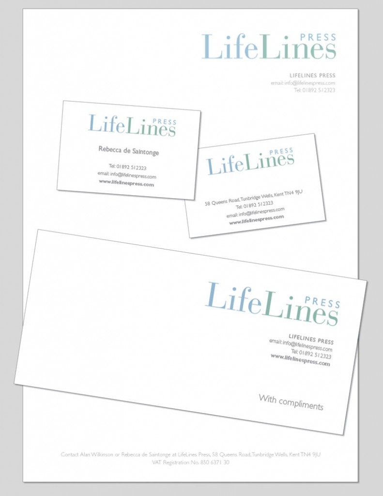 LifeLines Stationery designed by Pynto