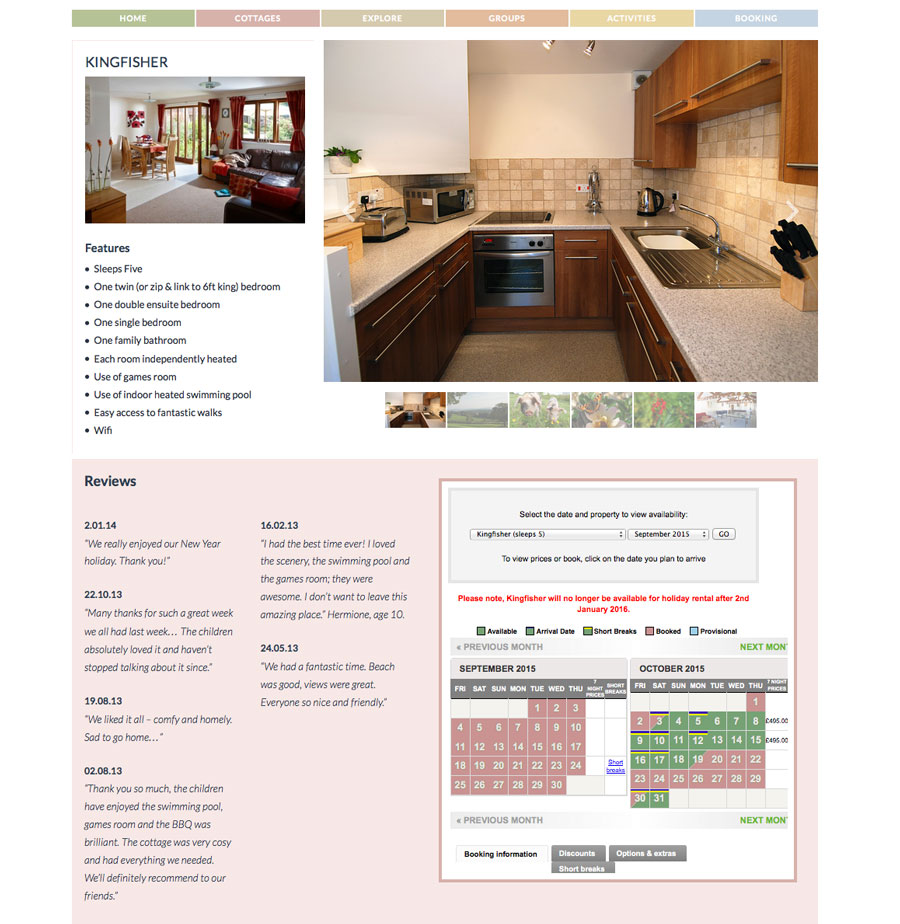 woodhall-integrated-online-booking
