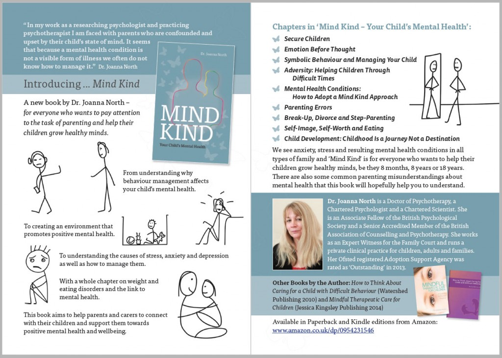 Mind Kind promotional flyer by Pynto